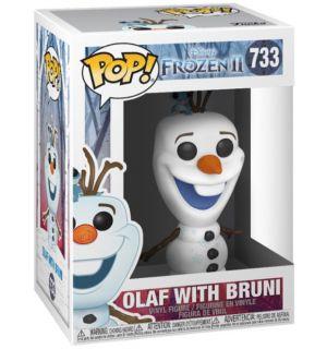 Funko Pop! Disney Frozen 2 - Olaf With Bruni (9 cm)