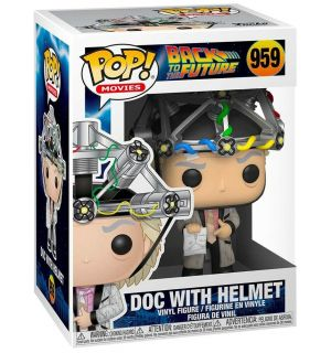 FUNKO POP! BACK TO THE FUTURE - DOC WITH HELMET (9 CM)