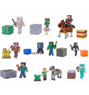 Minecraft - Adventure Figure Serie 4 (Soggetti Vari)