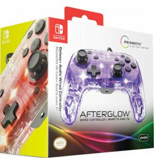 Controller Switch Wired Afterglow (Deluxe + Audio)