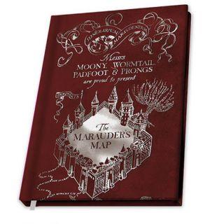 Harry Potter - Marauder's Map (Notebook, A5)
