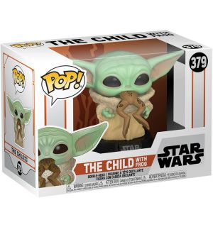 Funko Pop! Star Wars The Mandalorian - The Child With Frog (9 cm)