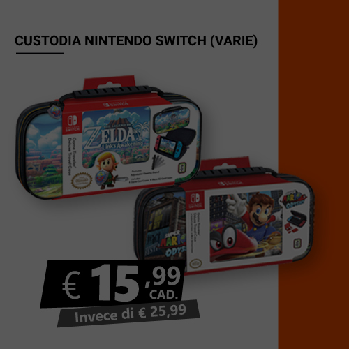 Offerta custodia Nintendo Switch Black Friday