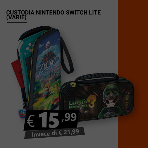Offerta Custodia protettiva Nintendo Switch Lite Black Friday