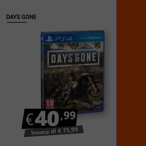 Offerta Days Gone Black Friday