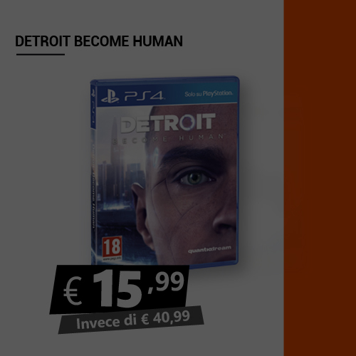 Offerta Detroit Become Human Black Friday