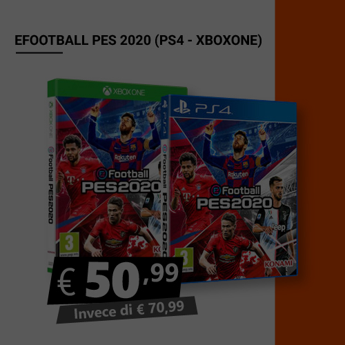 Offerta Efootball Pes 2020 Black Friday