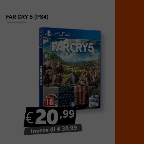Offerta Far Cry 5 Black Friday