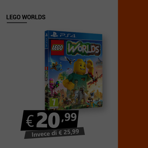 Offerta Lego Worlds Black Friday