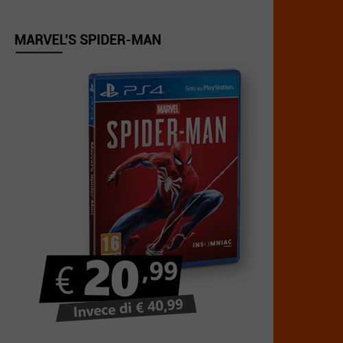Offerta Marvel Spider Man Blac Friday