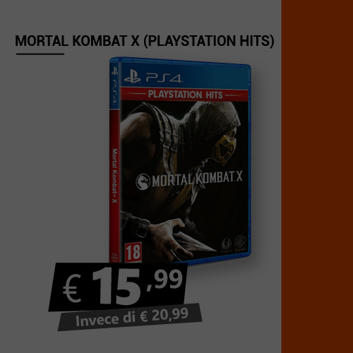 Offerta Mortal Kombat X Black Friday