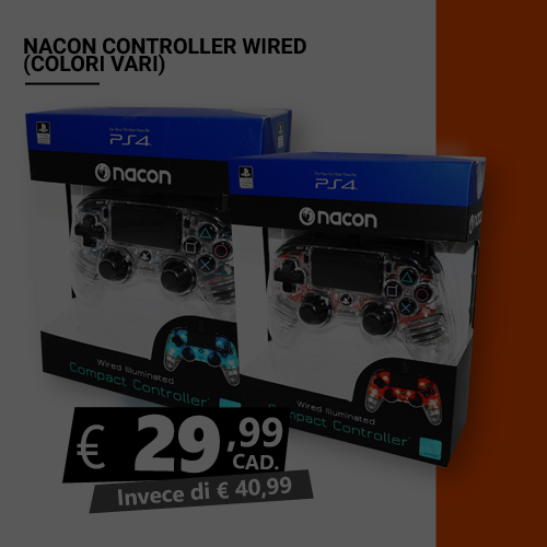Offerta Nacon controller wired Black Friday
