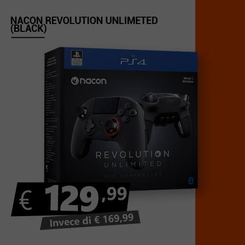 Offerta Nacon Revolution Unlimited Black Friday