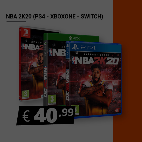 Offerta Nba 2K20 Black Friday