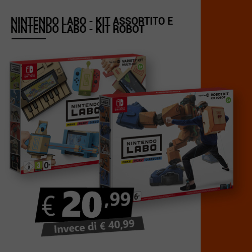Offerta Nintendo Labo Black Friday