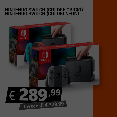 Offerta Nintendo Switch Black Friday