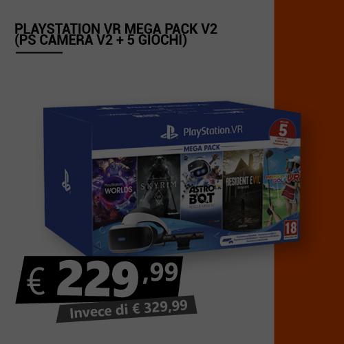 Offerta Playstation Vr Mega Pack V2 Black Friday