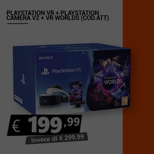 Offerta Playstation Vr più Playstation Camera più Vr Worlds Black Friday