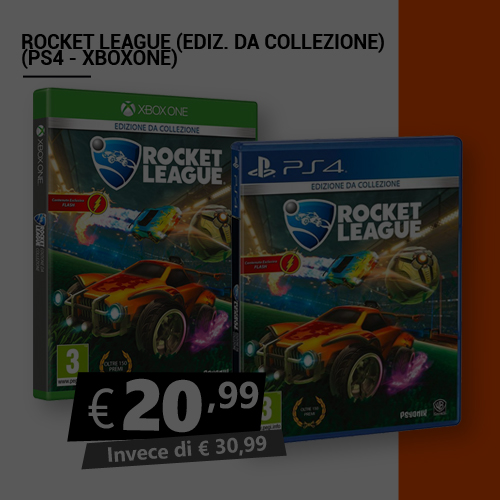 Offerta Rocket League Edizione da collezione Black Friday