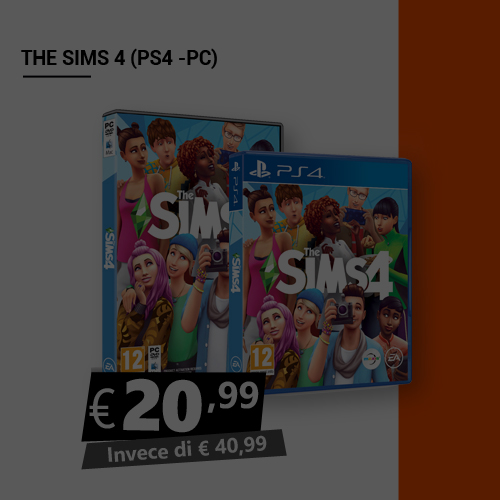 Offerta The Sims 4 Black Friday