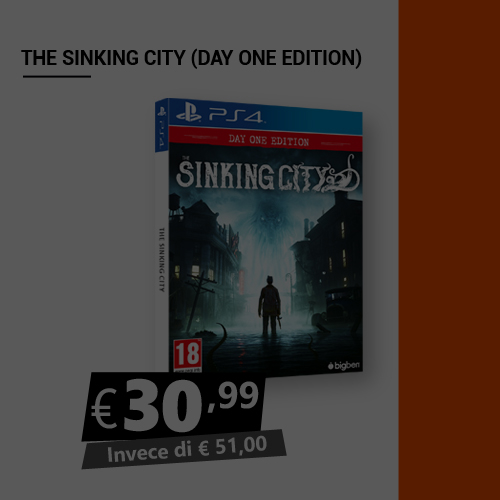 Offerta The Sinking City Black Friday