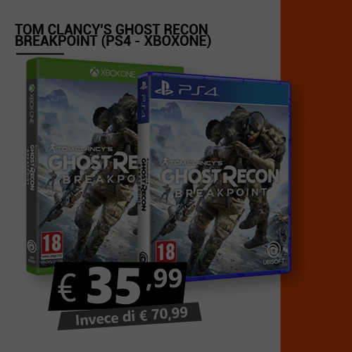 Offerta Tom Clancy's Ghost Recon Breakpoint