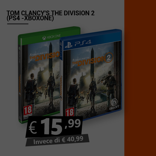 Offerta Tom Clancy's The Division 2