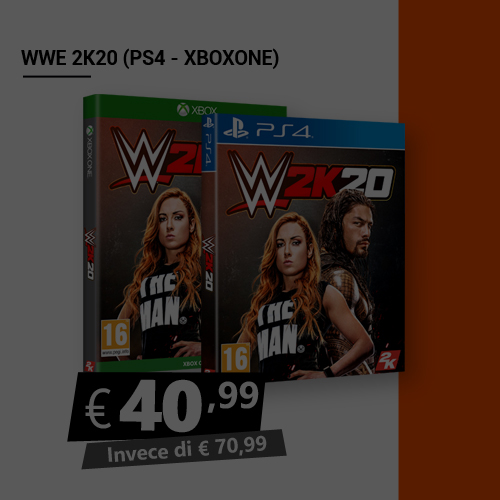 Offerta Wwe 2K20 Black Friday